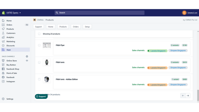 List Shopify Products Across Multiple Marketplaces