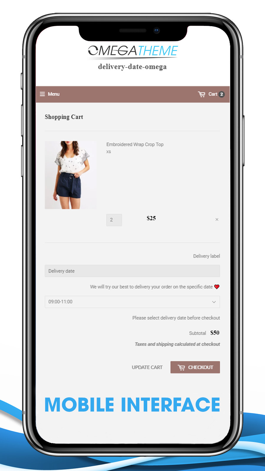 Delivery Date By Omega mobile