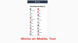 Works with mobile devices out of the box