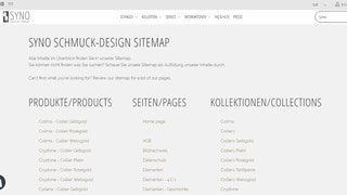 Multilingual Shopify sitemap page