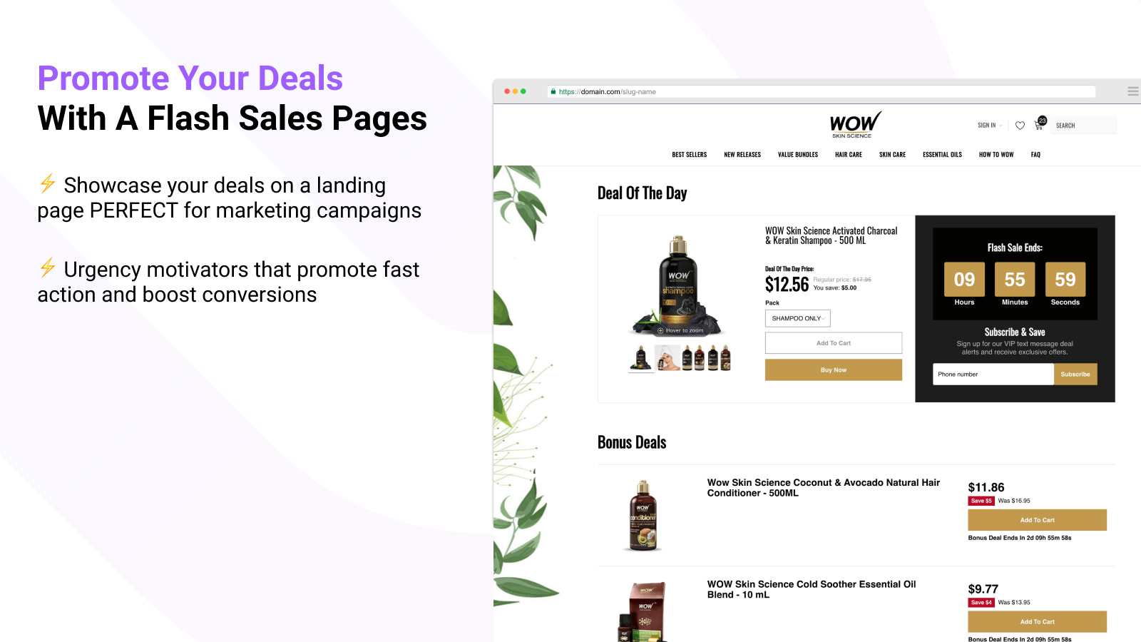 Promote Your Flash Sales With A Landing Page