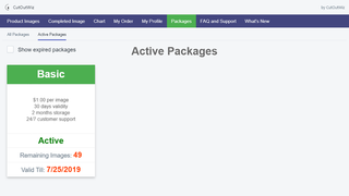 active package list