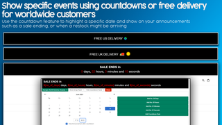 Show specific events using countdowns