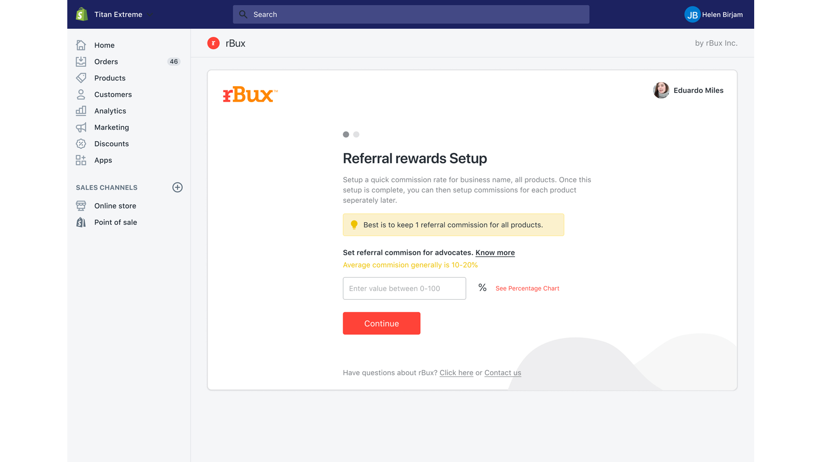 Automatically assign rewards for all of your products.
