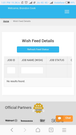 Feed of the products send to Wish Marketplace