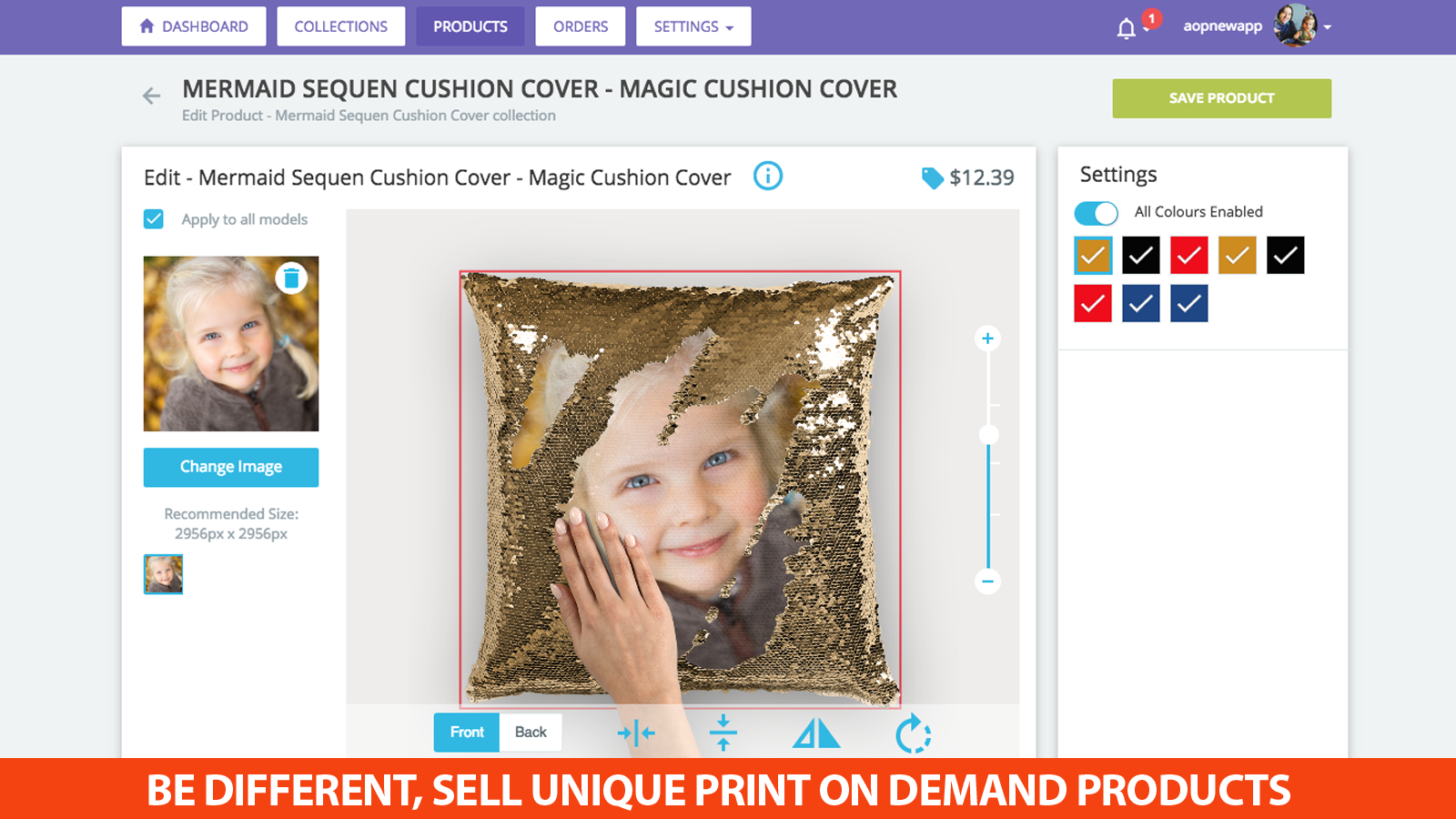 BE DIFFERENT, SELL UNIQUE PRINT ON DEMAND PRODUCTS