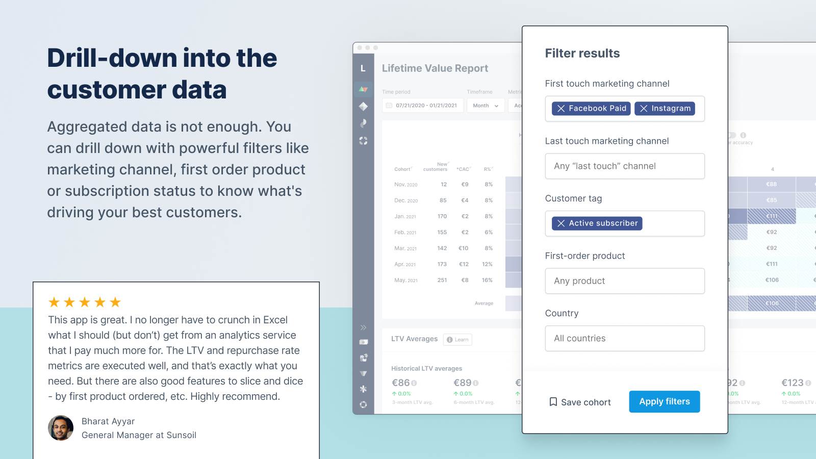 Dig into your customer data