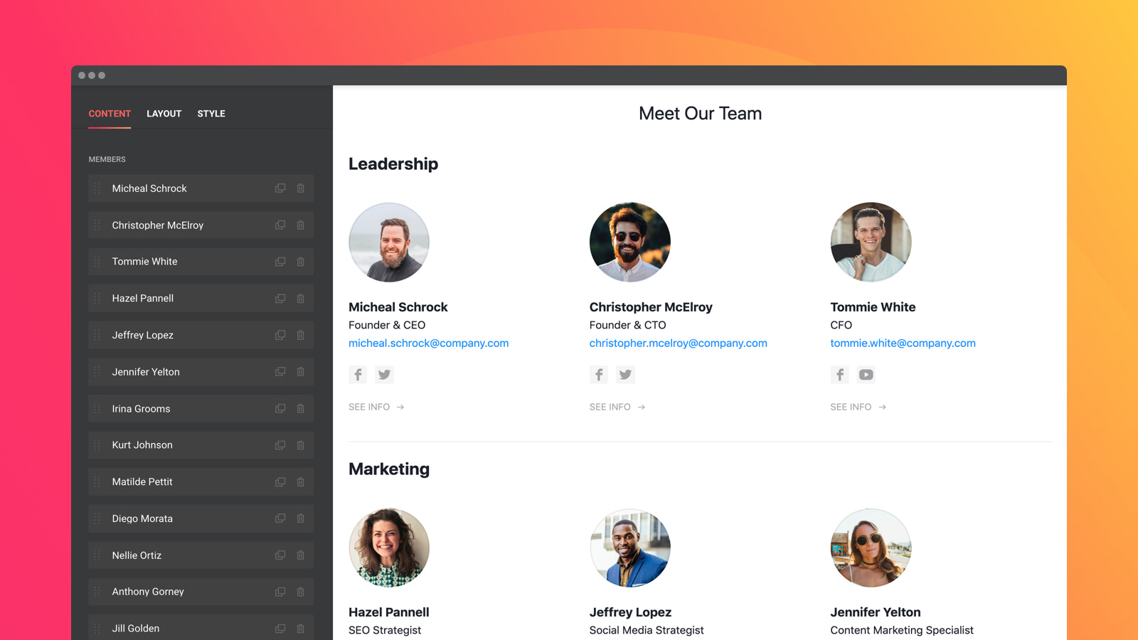 Groups help make search for the right person easier