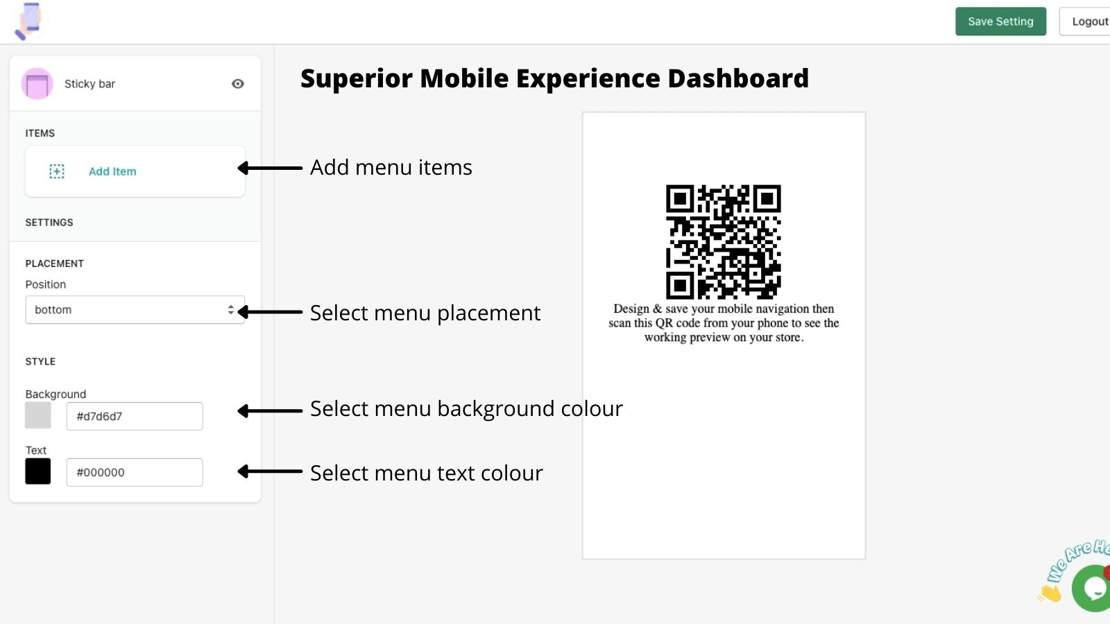 Superior Mobile Experience