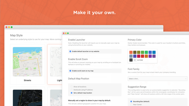 Robust Map Theming & Customizations