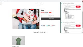 Pinterest pixel tag page view event