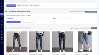Shopify App, Bulk Image Edit by Hextom Inc, optimized images for