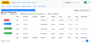 App pulls orders, ship from here or your own shipping tool