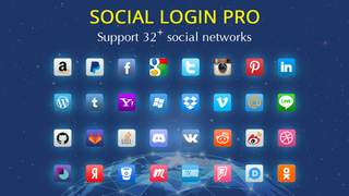 Support 32+ social networks