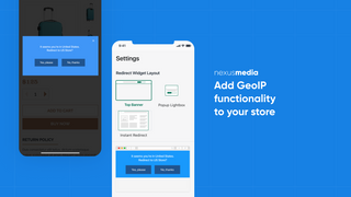 Location redirect functionality for your store