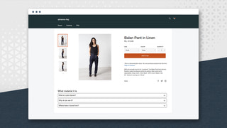 Storefront results of advance faqs