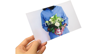 Held Touchcard Postcard