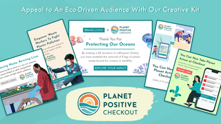 Appeal to an eco-conscious audience with our creative kit
