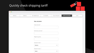 Check Shipping Rates