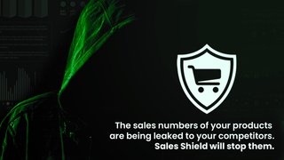 The sales numbers of your products  are being leaked