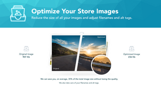 Original and optimised images compared