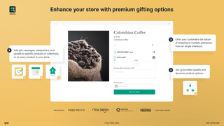 Gift Product Options Bundle Wraps Messages Datepicker Upsells