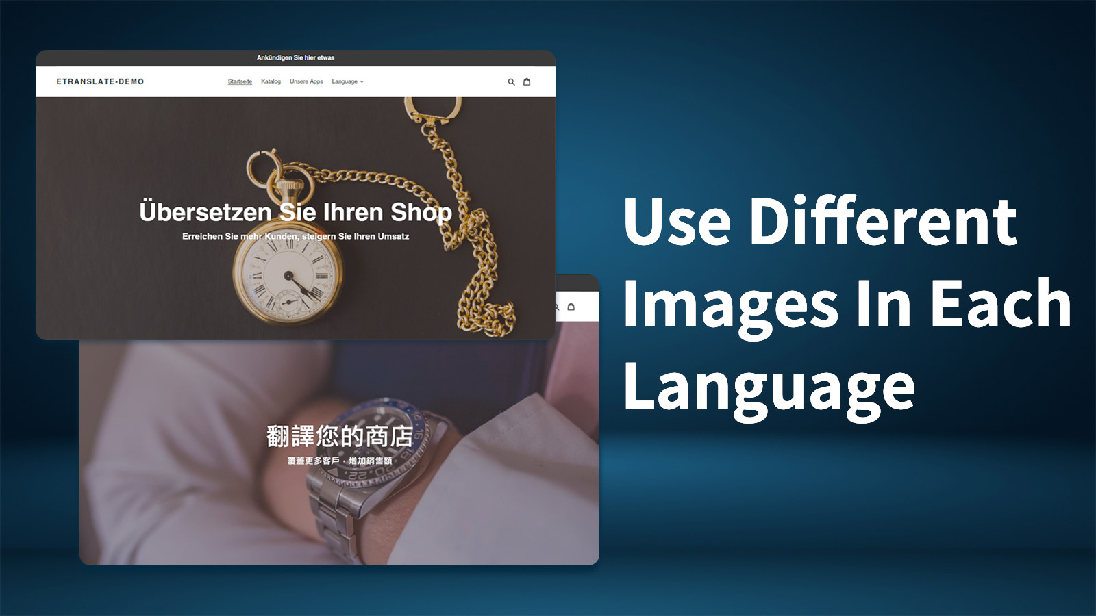 Use different images in each language