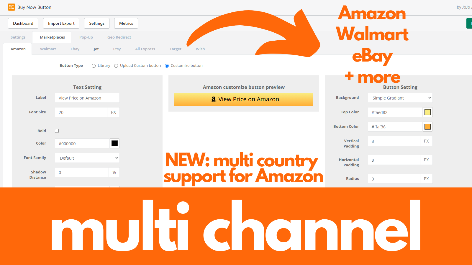 Multi Channel + Amazon Multiple Country Support