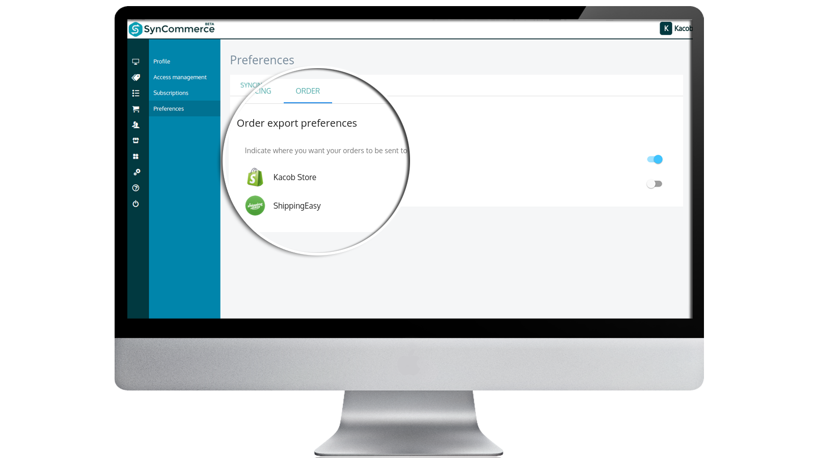 Choose where to automatically send your orders for order process