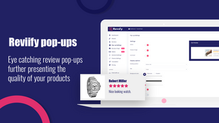 Reviews pop-ups, AliExpress reviews