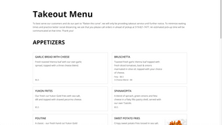 Let guests view your menus easily as ordering menus