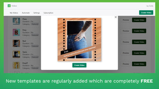 New templates are regularly added which are completely free