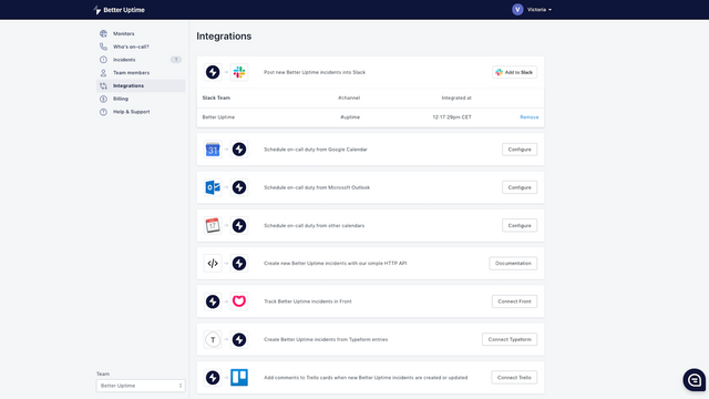 Hundreds of integrations with tools like Slack and Zendesk