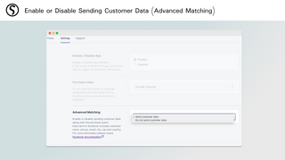 Enable or Disable Sending Customer Data (Advanced Matching)
