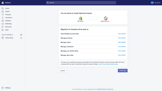 opencart to shopify import by Cart2Cart