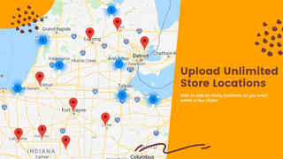 Store locator on frontend