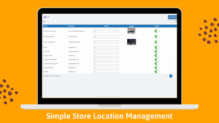 Store locator on backend 5