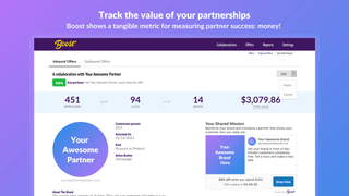 Cross promote on your partner's order thank you page