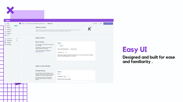 Easy Kartify Interface - Banners