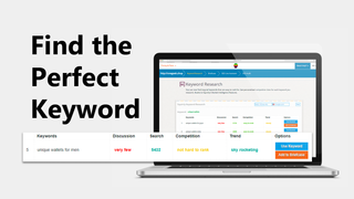 Find the perfect keyword for seo. Target seo kw that bring sales