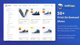 50+ Trendy Print On Demand Shoes supported for customization now