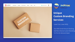 Unique Custom Branding Services For Print On Demand Business.
