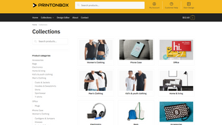 PrintonBox Product Collections