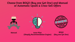 BOGO - Buy One Get One cart upsell