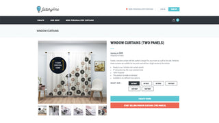 Detail product page