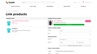 Linking product