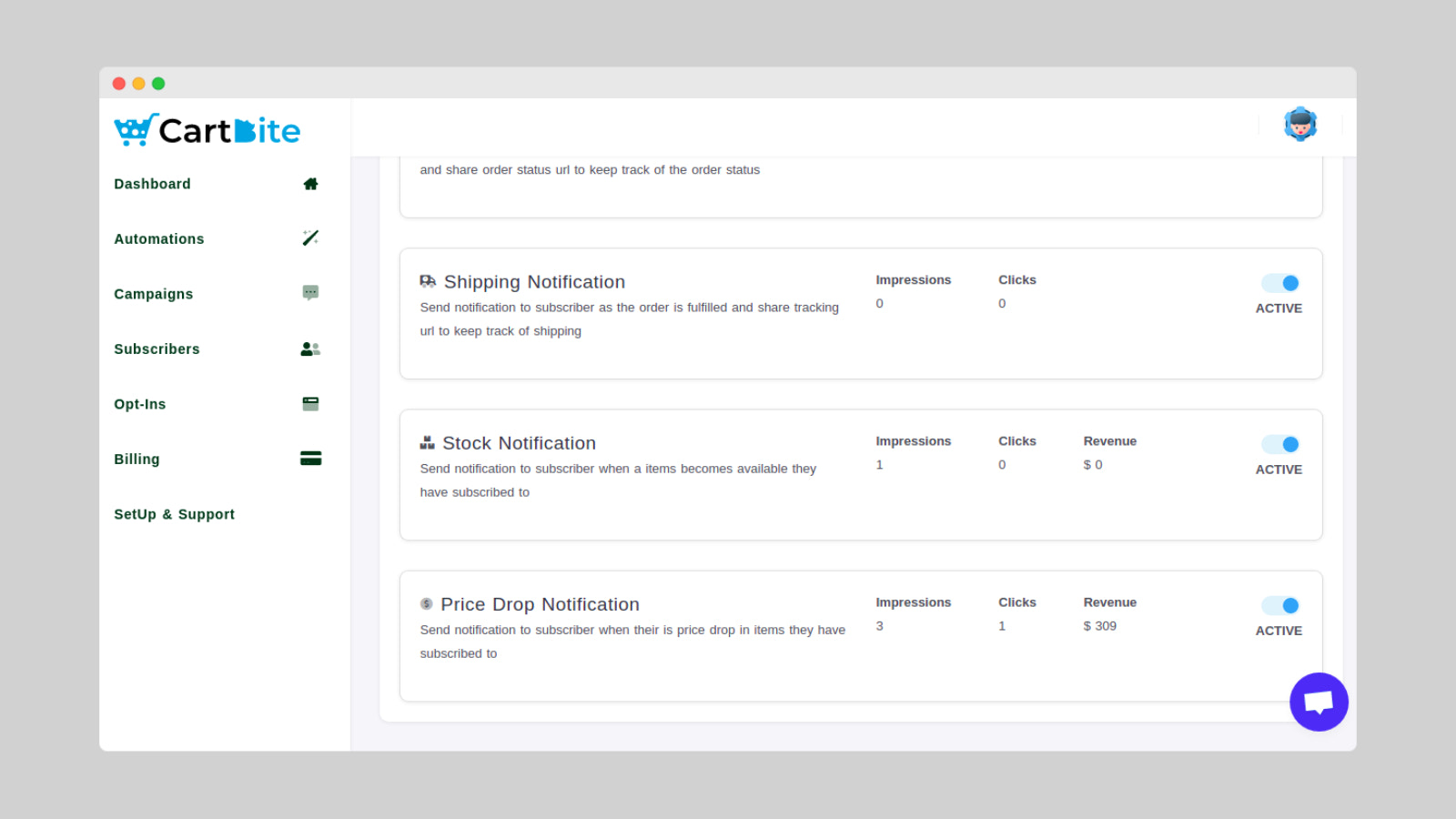 Back In Stock & Price Drop Automation