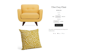 Product Page Yellow Variant