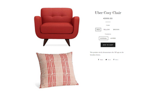 Product Page Red Variant