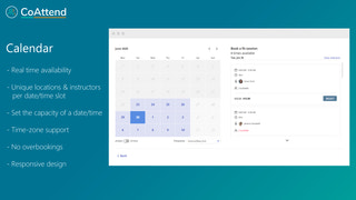 Calendar with time-zone support
